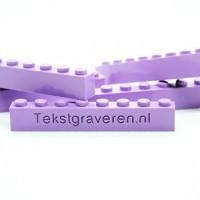 #tekstgraveren #graveren #legograveren #lego #legobedrukken #legoprint