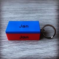 Geen twijfel, deze sleutelhanger is voor Jan! #lego #lego_jan #legosleutelhanger