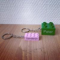 Duplo & lego sleutelhanger
