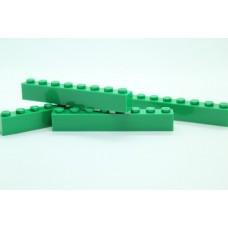 Legoblok 1x8 Groen (donker) - Graveren en tekst ingekleurd