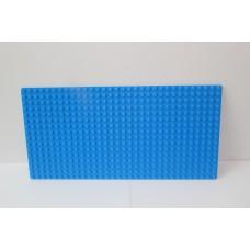 Sleutelrek legoplaat 16x32 Blauw