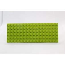 Sleutelrek legoplaat 6x16 Groen (licht)