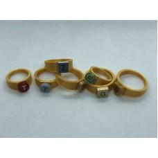 Ring 1x1 Goud (3D print)