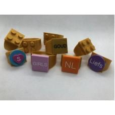 Ring 4x4 Goud (3D print)
