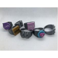 Ring 4x4 Zilver (3D print)