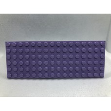 Sleutelrek legoplaat 6x16 Paars (licht)