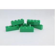 Legoblok 1x4 Groen - Graveren en tekst ingekleurd